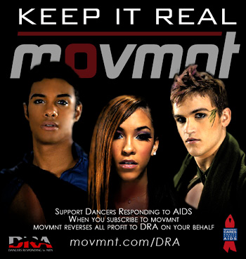 KEEP IT REAL - Donate to Dancers Responding to AIDS